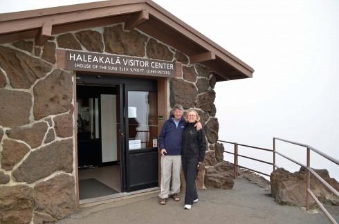 On Mount Haleakala