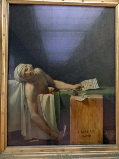 Death of Marat – David