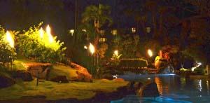 HBR Pool at Night
