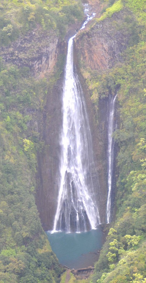 Manawaiopuna Falls a.k.a. Jurassic Falls