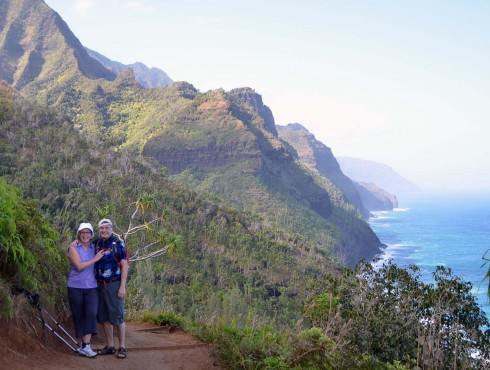 On the Na Pali Coast