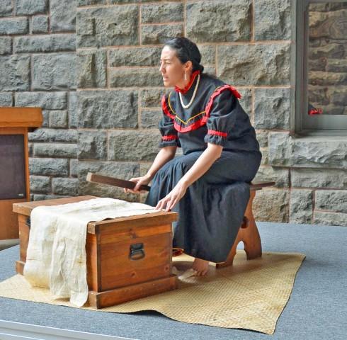 Bishop Museum storyteller