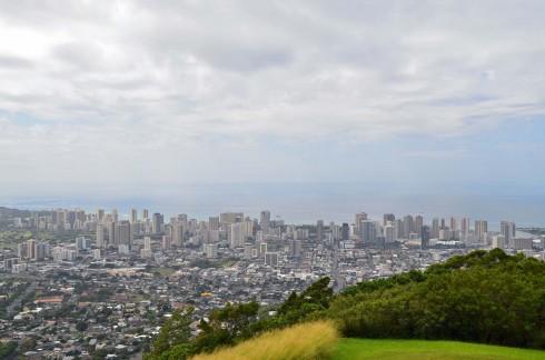 Honolulu from Pu'u Ualanka'a Lookout