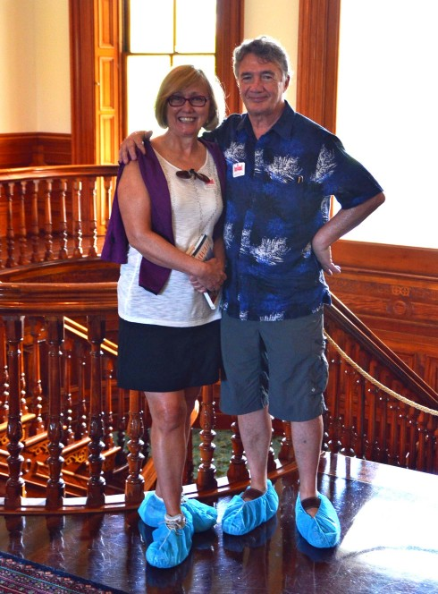 In the Iolani Palace