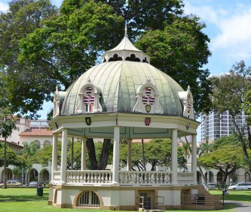 Iolani Coronation Stand
