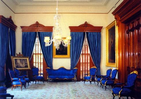 Blue Room Iolani Palace
