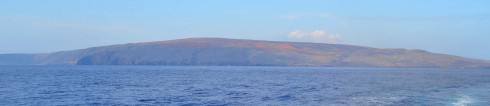 Kahoolawe from the Ocean Voyager