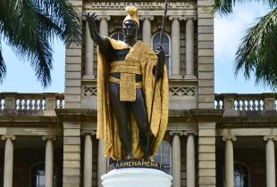 King Kanehameha Statue