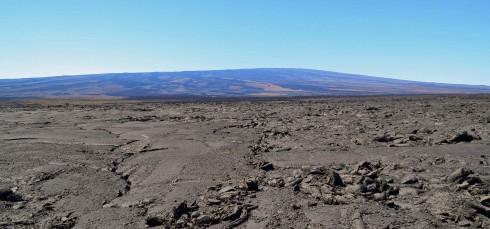 Mauna Loa and Lava Fields