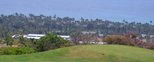 Kanaloa from Kona Mountain course