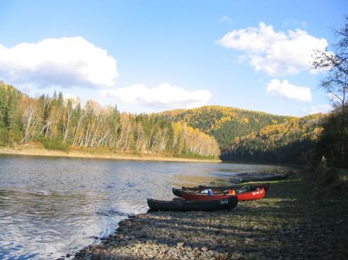 Gilmore Camp on the Restigouche