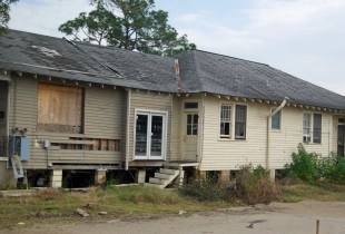 Abandoned House post Katrina