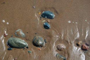 Sand and Pebbles at Lawrencetown