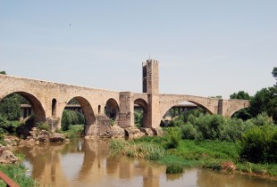 Roman Bridge at Besalu