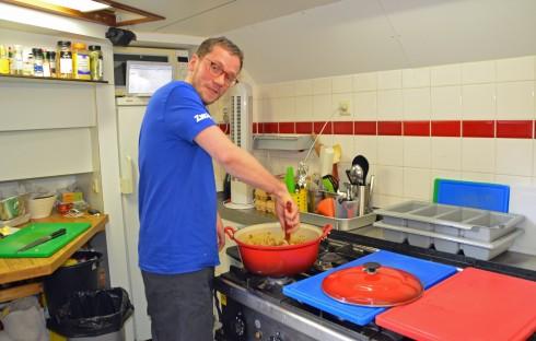 Chef Dorus of the Zwaan