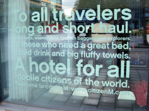CitizenM statement of principles