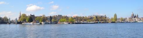 Old Amsterdam Skyline