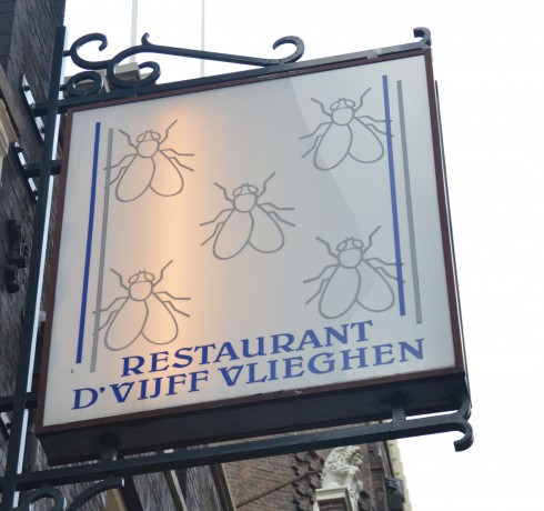 The Five Flies Sign
