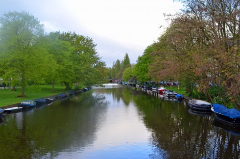 Morning on the Zuider Amstelkanal