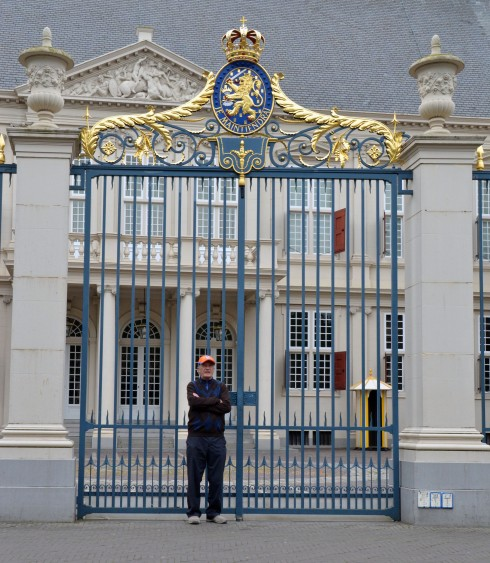 At the Gates of the Noordeinde Palace, The Hague