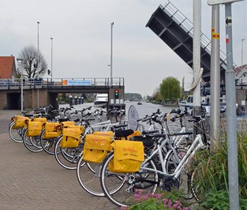 Bikes and opening Bridge