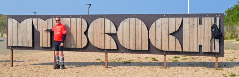 My Beach sign