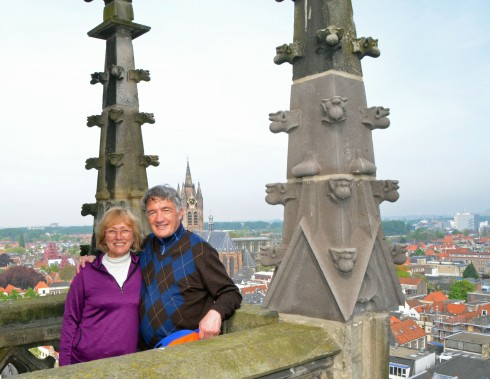 Dale and Alison's view of Delft