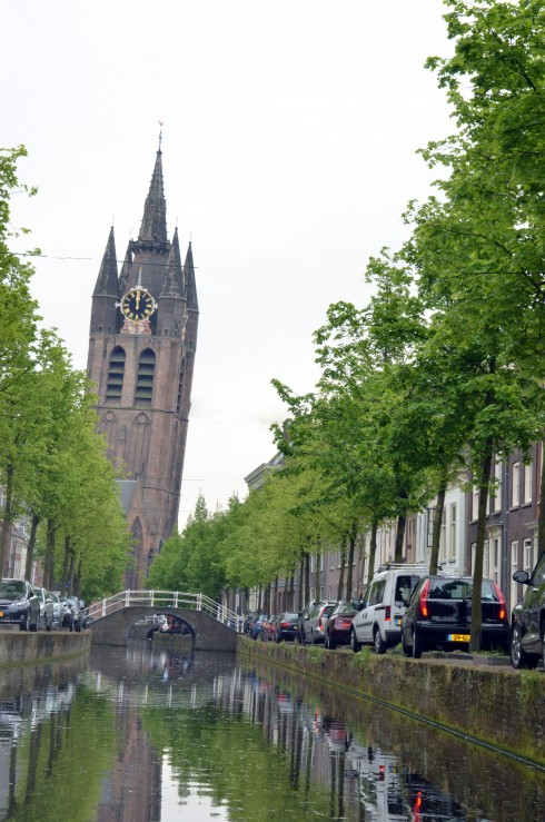 Leaning Tower of Delft