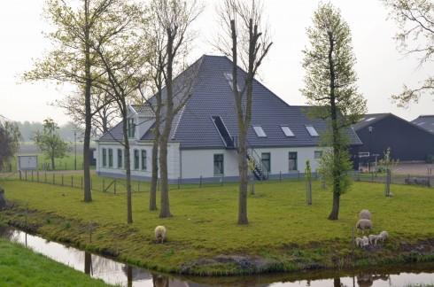 Modern Dutch pyramid house