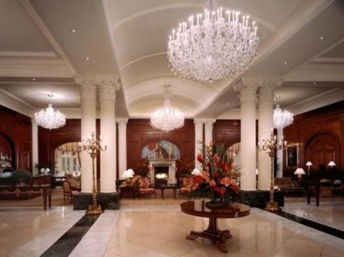Nemacolin Chateau lobby