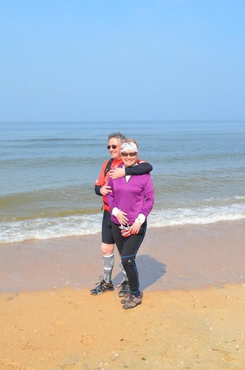 On Castricum beach