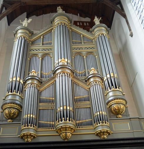 Oude Kerk Pipe Organ, Delft