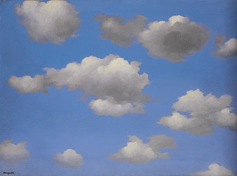 Sky by Rene Magritte