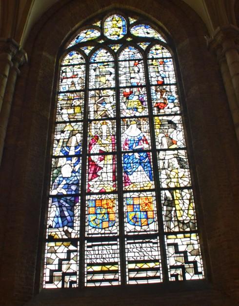 Stained Glass, Nieuwe Kerk, Delft