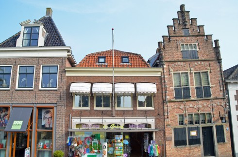 The leaning house of Edam