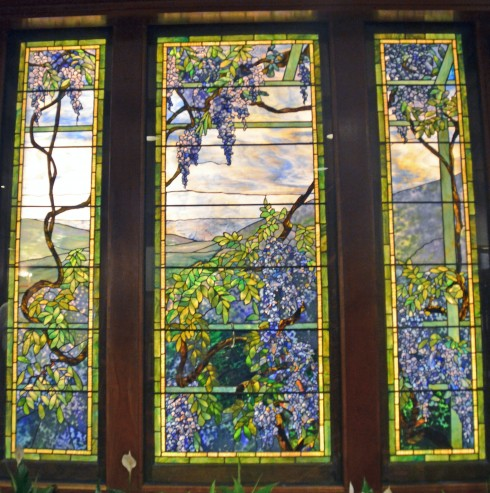 Tiffany Wisteria panel, Nemacolin