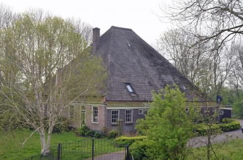 Traditional Dutch pyramid house