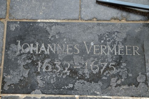 Vermeer's first grave