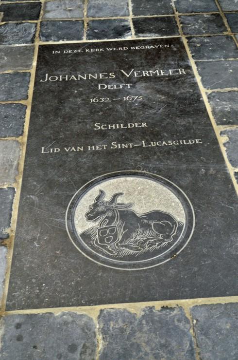 Vermeer's Second grave