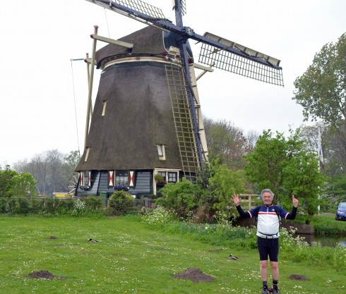 Windmill #7 with mole hills