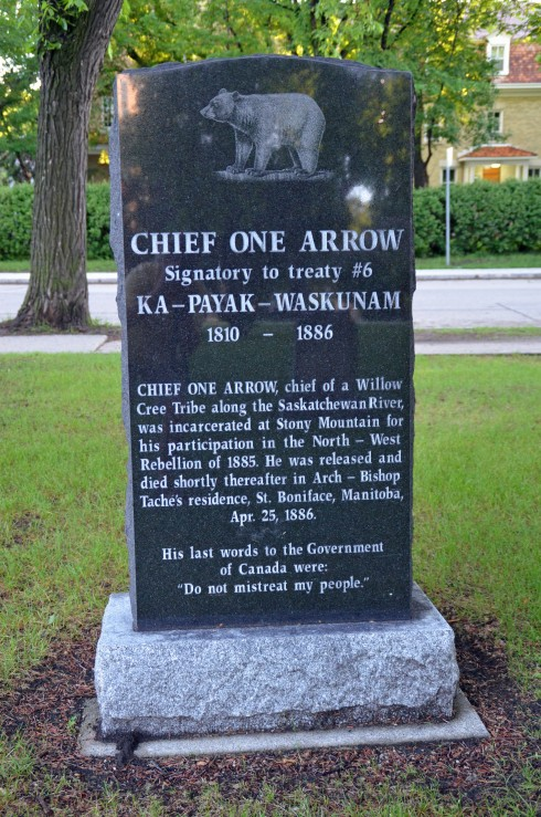 Grave of Chief One Arrow