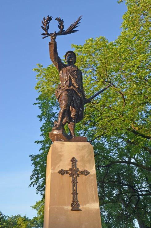 Poilu Monument, St. Boniface