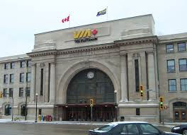 Union station Winnipeg