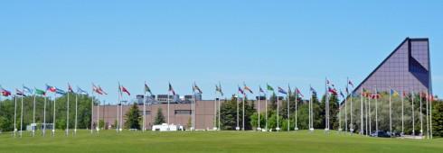 Winnipeg Mint Parade of Flags