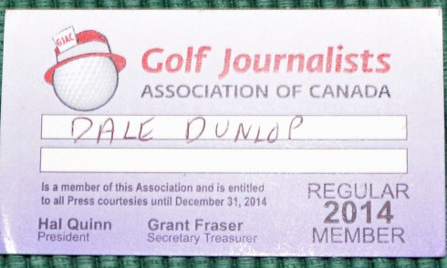 GJAC membership card
