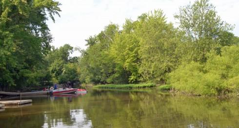 Launching Site on Riviere de Mille Lacs