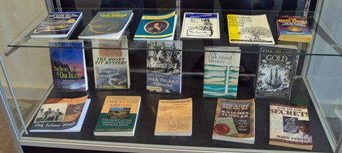 Books on Oak Island