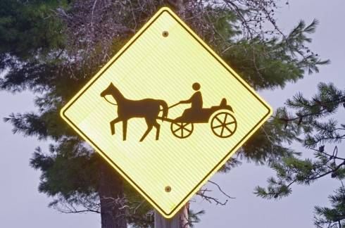 Horse & Buggy Sign