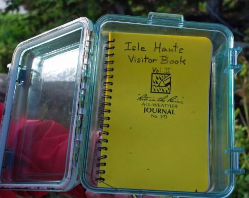 Isle Haute Visitor Book