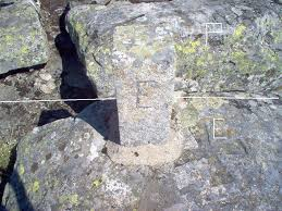 Portuguese marking stone